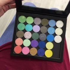 Тени перламутровые 2гр. (Shimmer Eyeshadow 2g.) MAKE-UP-SECRET 609 Серо-зеленый