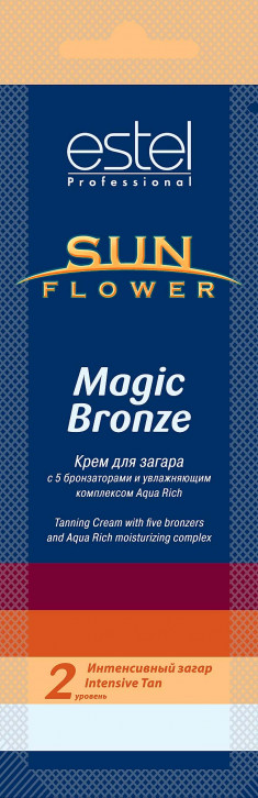 ESTEL PROFESSIONAL Крем для загара / Sun Flower Magic Bronze 15 мл
