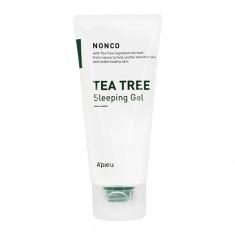 Гель для лица APIEU NONCO TEA TREE ночной с маслом чайного дерева 80 мл