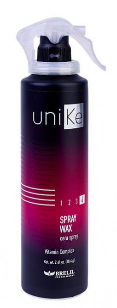 BRELIL professional Спрей-воск моделирующий для волос / UniKe 150 мл