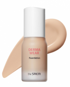 Тональная основа THE SAEM Derma Wear Foundation 01 Light Beige 30мл