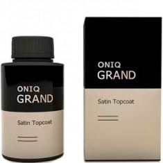 Финишное покрытие с сатиновым эффектом Grand Satin Topcoat ONIQ