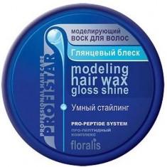 Моделирующий воск для волос Глянцевый блеск ProfiStar FLORALIS
