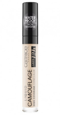 Консилер CATRICE LIQUID CAMOUFLAGE Flawless Base 001 Fair Ivory