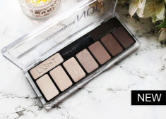 Тени для век CATRICE The Essential Nude Collection Eyeshadow Palette 010 нюдовые