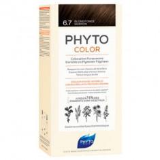 Краска для волос PHYTOSOLBA PHYTO COLOR 6.7 Темный шоколадный блонд