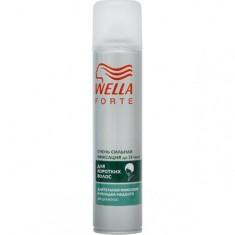 Лак для волос для коротких волос очень сильной фиксации Wella