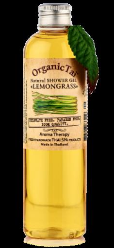 Гель для душа безсульфатный с экстрактом лемонграсса ORGANIC TAI Natural Shower Gel Lemongrass 260 мл