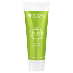 Скраб для тела тонизирующий с экстрактом белого чая Janssen Cosmetics PURE HARMONY Well Being Body Scrub 50мл