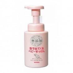 мыло жидкое на основе натуральных компонентов miyoshi additive free body soap