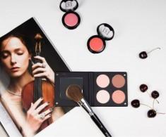 Палетка румян с зеркалом, 4 оттенка Мake-Up Atelier Paris BL3DN нюд 96г Make-Up Atelier Paris
