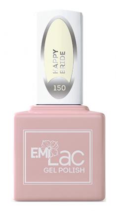 E.MI 150 WEC гель-лак для ногтей, Счастливая невеста / E.MiLac 9 мл