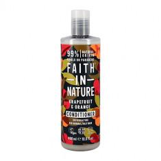 Кондиционер для волос FAITH IN NATURE укрепляющий с маслами грейпфрута и апельсина для нормальных и жирных волос 400 мл