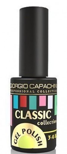 GIORGIO CAPACHINI 348 гель-лак трехфазный для ногтей / Classic 7 мл
