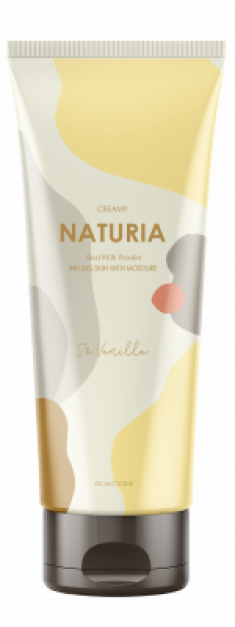 Скраб для тела ВАНИЛЬ EVAS NATURIA Creamy Oil Salt Scrub So Vanilla 250 г