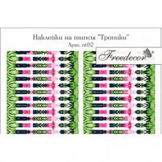 Freedecor, Наклейки на типсы «Тропики»
