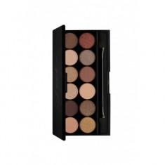 Палетка теней Sleek MakeUp Eyeshadow Palette I-Divine (12 тонов) All Night Long 429